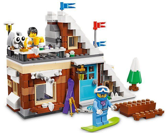 Chalet Creator Montagne Chalet Lego Lego De Montagne Creator Lego De EH2D9WI