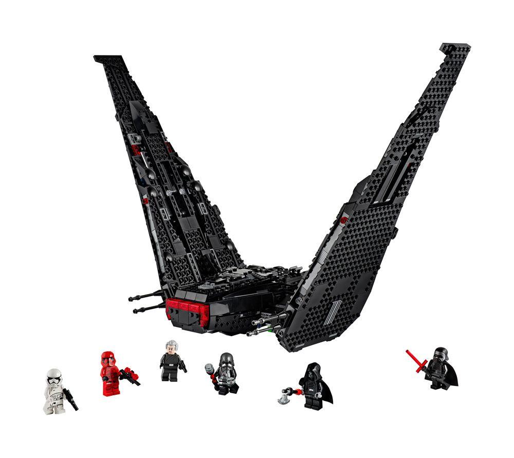 Lego Star Wars La Navette De Kylo Ren Episode Ix 75256