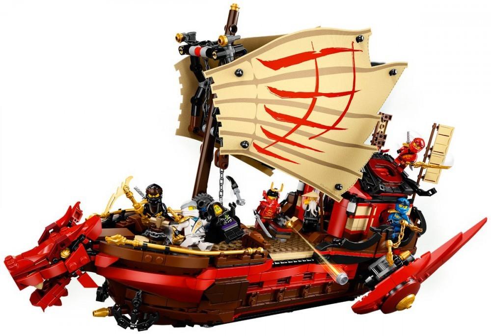 Lego Ninjago Le Qg Des Ninjas 71705