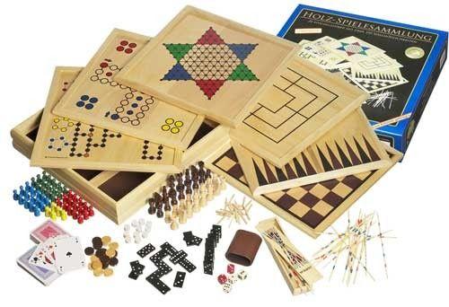 coffret 10 jeux en bois. Black Bedroom Furniture Sets. Home Design Ideas