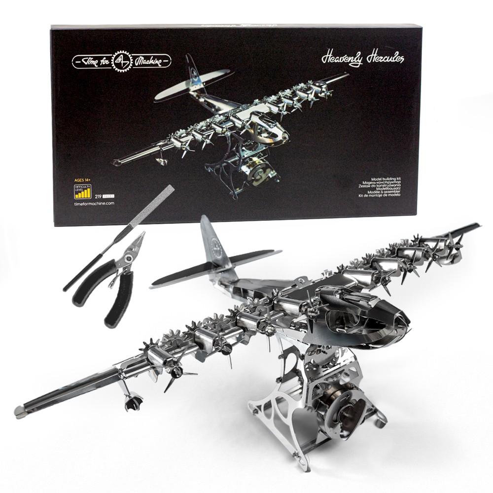 Temps pour machine-Heavenly Hercules Modèle réduit d/'avion-Métal mécanique modèle 38018